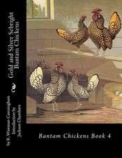 Gold and Silver Sebright Bantam Chickens