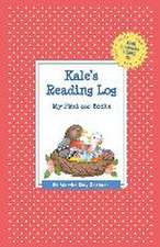 Kale's Reading Log:  My First 200 Books (Gatst)