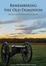 Remembering the Old Dominion