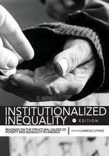 Institutionalized Inequality