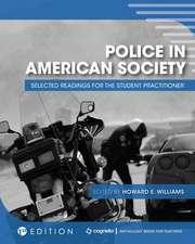 Police in American Society