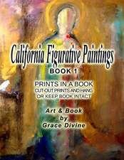 California Figurative Paintings Book 1 Prints in a Book