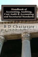 Handbook of Accounting, Auditing, Cost Audit & Accounting and Secretarial Standards
