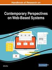 Handbook of Research on Contemporary Perspectives on Web-Based Systems