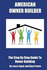American Owner Builder