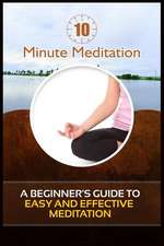 10 Minute Meditation:  A Beginner's Guide to Easy and Effective Meditation