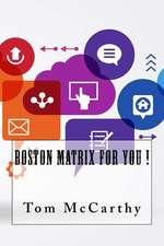 Boston Matrix for You !