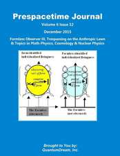 Prespacetime Journal Volume 6 Issue 12