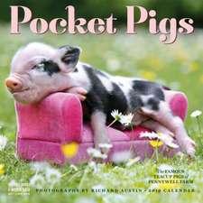 Pocket Pigs Wall Calendar 2019