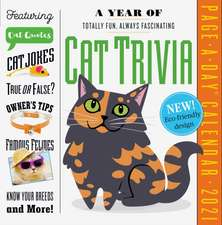 A Year of Cat Trivia Page-A-Day Calendar 2021