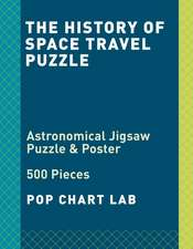The History of Space Travel Puzzle: Astronomical Jigsaw Puzzle & Poster