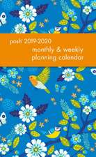 Posh: Birds & Blossoms 2019-2020 Monthly/Weekly Diary