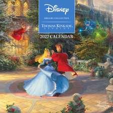 Disney Dreams Collection by Thomas Kinkade Studios: 2022 Mini Wall Calendar