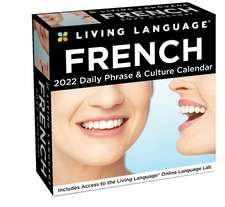 Living Language: French 2022 Day-to-Day Calendar