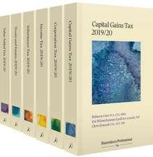 Bloomsbury Professional Tax Annuals 2019/20: Full Set