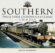 Southern, Two and Three Cylinder 4-4-0 Classes (L, D1, E1, L1 and V)