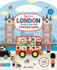 MY SEARCH AND FIND LONDON STICKER