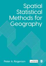 Spatial Statistical Methods for Geography