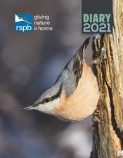 RSPB, Inspiring Nature Deluxe A5 Diary 2021