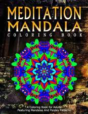 Meditation Mandala Coloring Book - Vol.18