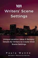 101 Writers' Scene Settings