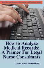How to Analyze Medical Records