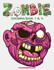 Zombie Coloring Book 1 & 2