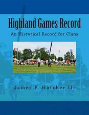 Highland Games Record
