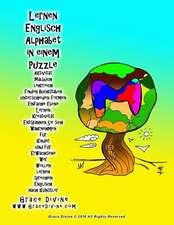 Lernen Englisch Alphabet in Einem Puzzle Aktivitat Malbuch Lehrreich Finden Buchstaben Unterscheiden Formen Einfache Ebene Lernen Kreativitat Entspann