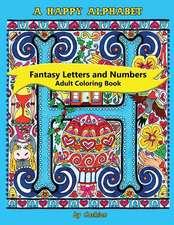 A Happy Alphabet Adult Coloring Book