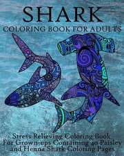 Shark Coloring Book for Adults