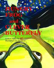 Hungry Frog and Clever Butterfly