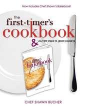 First Timer's Cookbook and Bakebook