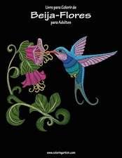 Livro Para Colorir de Beija-Flores Para Adultos 1
