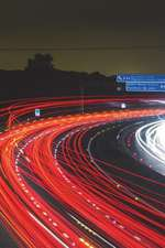 Night Traffic on the Highway Journal