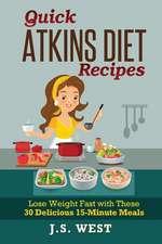 Quick Atkins Diet Recipes