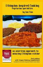 Ethiopian-Inspired Cooking, Vegetarian Specialties, Black & White 2nd Edition