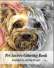 Pet Lovers Coloring Book