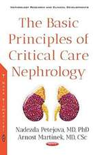 Basic Principles of Critical Care Nephrology