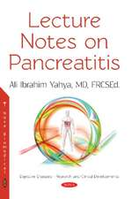 Lecture Notes on Pancreatitis