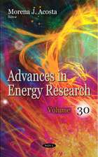 ACOSTA, M: Advances in Energy Research
