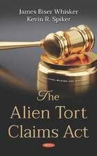Whisker, J: Alien Tort Claims Act