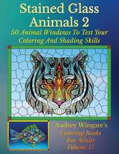 Stained Glass Animals 2