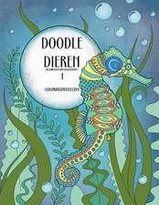 Doodle Dieren Kleurboek Voor Volwassenen 1