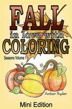 Fall in Love with Coloring Mini Edition