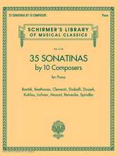 35 Sonatinas by 10 Composers for Piano Schirmer's Library of Mu