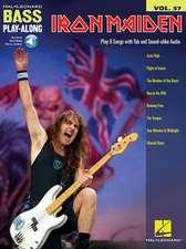 Iron Maiden: Bass Play-Along Volume 57