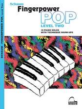 Fingerpower Pop - Level 2: 10 Piano Solos with Technique Warm-Ups