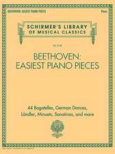 Beethoven: Easiest Piano Pieces: Schirmer's Library of Musical Classics Vol. 2142