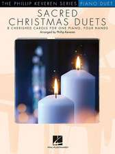 Sacred Christmas Duets: The Phillip Keveren Series for 1 Piano, 4 Hands